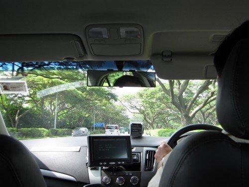 taxi ride!