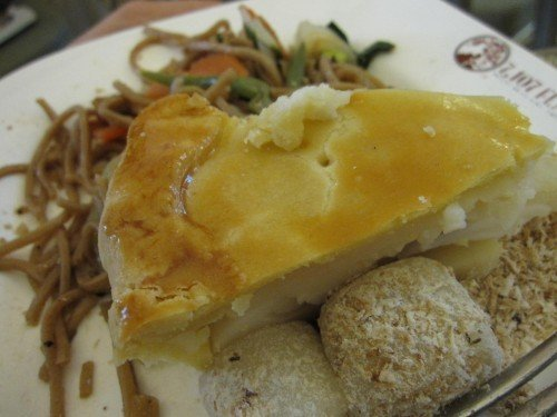 buko pie served by 7107 Flavours