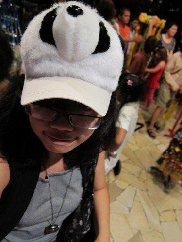 >:D EVIL PANDA SMILE
