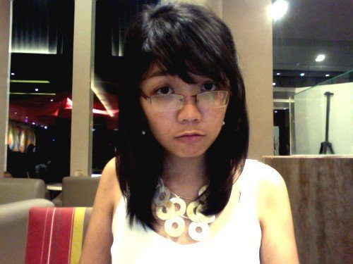 there are black moons under my eyes!!!! my brain cells ebbing away at SBC.