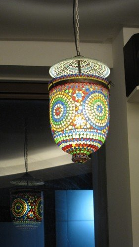 and Maria pointed out this pretty lamp was what she really wanted