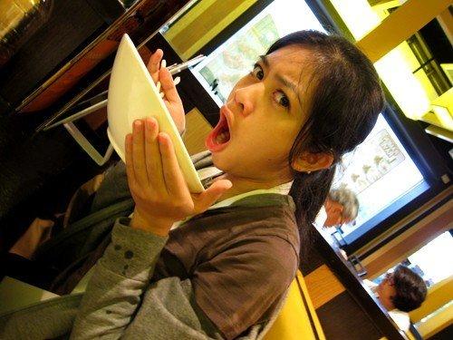Jamie loves kani salad :)